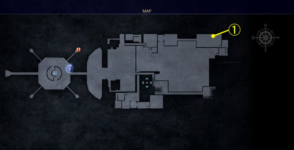 FF15のDLC『FFXVロイヤルパック』にて追加された『アーカイブ』でのジグナタス要塞①のイメージ画像です。