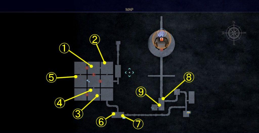 FF15のDLC『FFXVロイヤルパック』にて追加された『アーカイブ』でのジグナタス要塞③のイメージ画像です。
