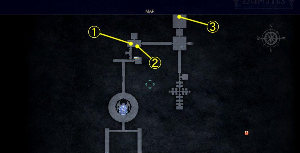 FF15のDLC『FFXVロイヤルパック』にて追加された『アーカイブ』でのジグナタス要塞④のイメージ画像です。