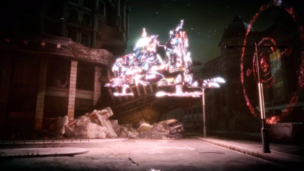 FF15のDLC『FFXVロイヤルパック』にて追加された『オメガ』攻略のイメージ画像です。