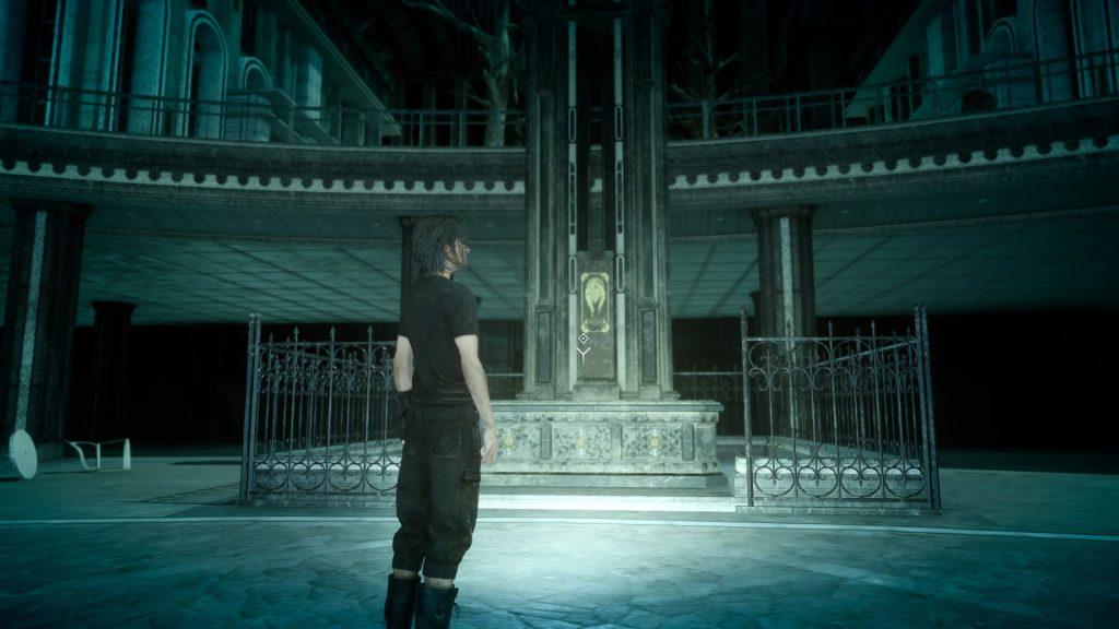 FF15のDLC『FFXVロイヤルパック』のサブクエスト『王無き都の記録』のイメージ画像です。