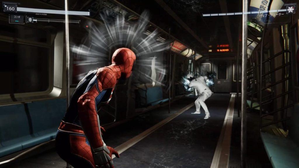 最新作『マーベル スパイダーマン PS4』で進行可能なメインミッション『逃亡者』のリーの画像です。
