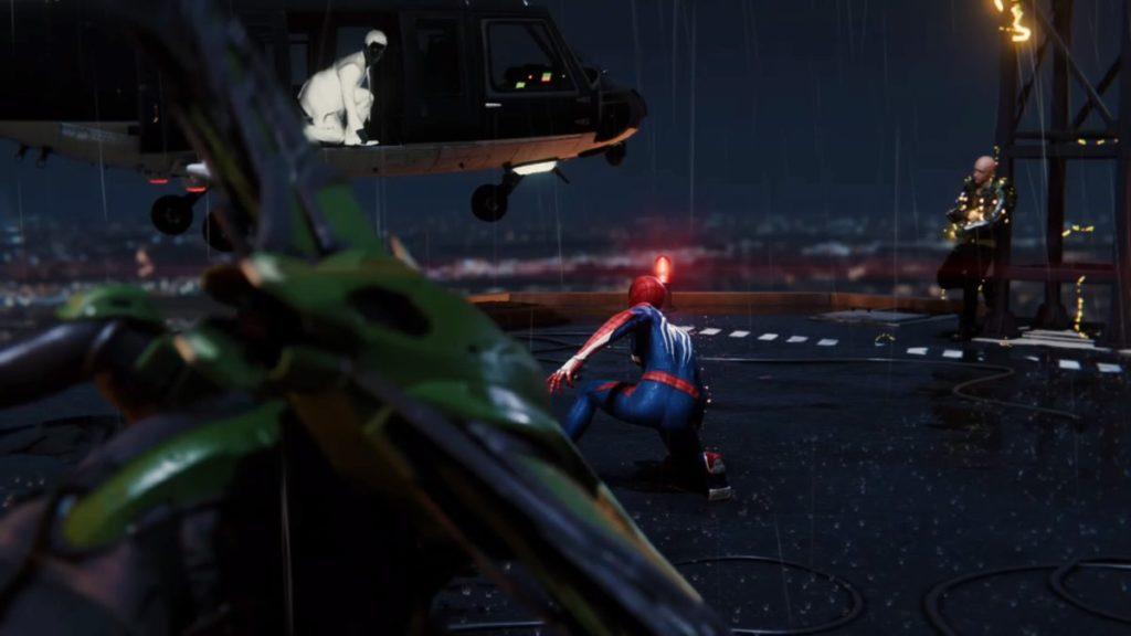 最新作『マーベル スパイダーマン PS4』で進行可能なメインミッション『Act.2(後半)』のイメージ画像です。