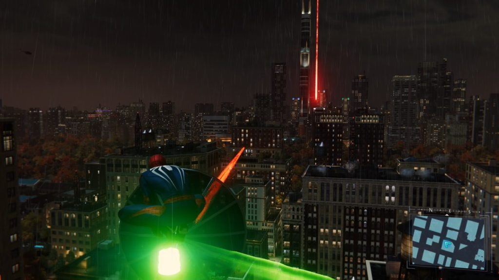 『マーベル スパイダーマン PS4』で受注可能なリサーチステーション攻略情報(避雷針)のイメージ画像です。