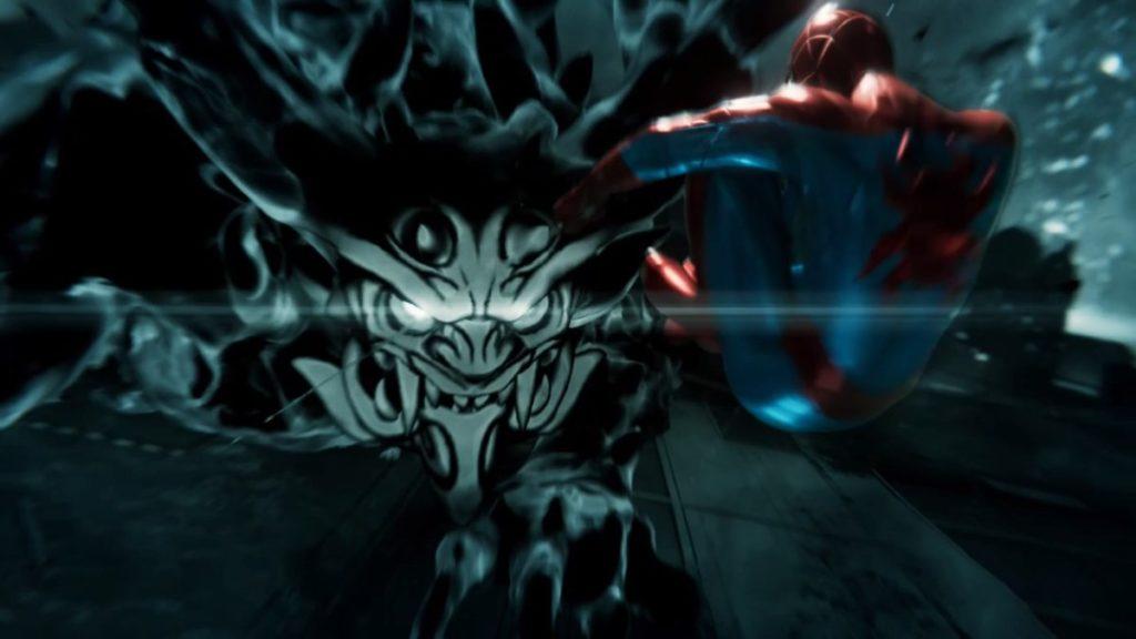 最新作『マーベルスパイダーマン』で進行可能なメインミッション『Act.3(後半)』のイメージ画像です。