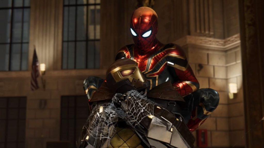 マーベル スパイダーマン(PS4)で進行するメインミッション『Act.1(後半)』のイメージ画像です。
