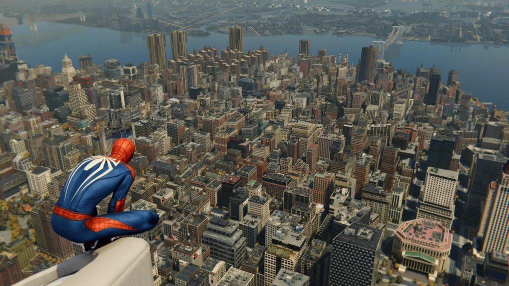 マーベル スパイダーマン(PS4)で解放可能な全エリアのマップ情報のイメージ画像です。