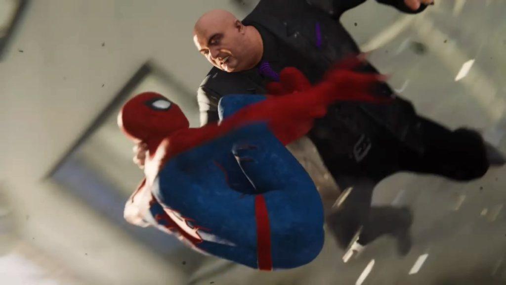 マーベル スパイダーマン(PS4)で進行するメインミッション『Act.1(前半)』のイメージ画像です。