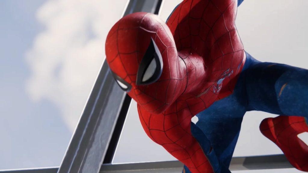 最新作『マーベル スパイダーマン(PS4)』で発生するサイドミッションのイメージ画像です。