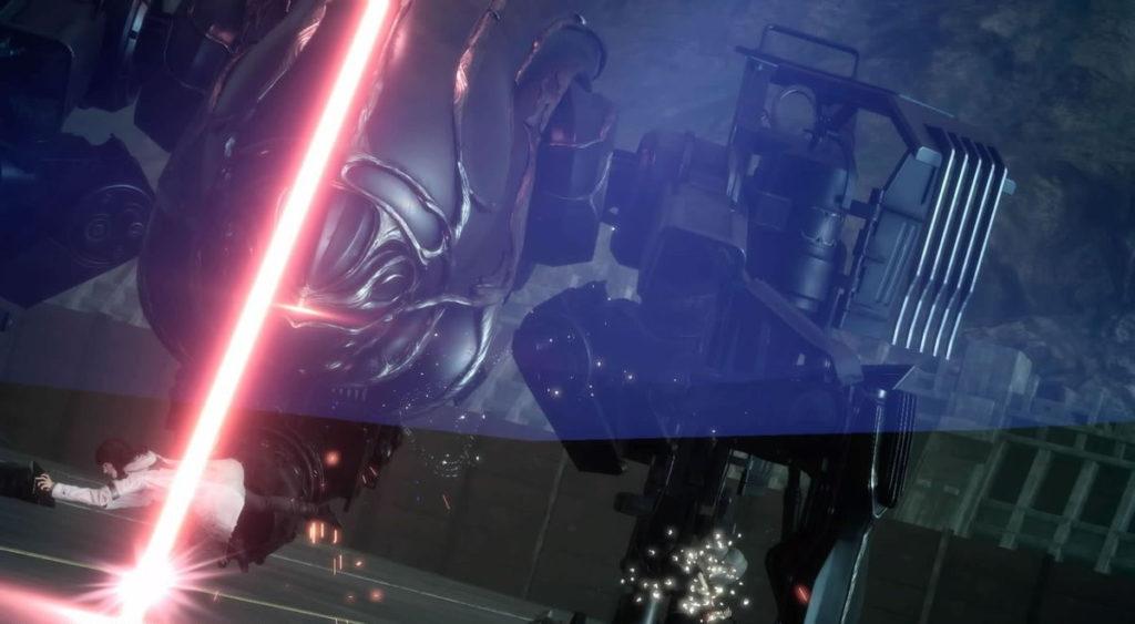 FF15で配信されたスタンドアローン版『戦友』のエクストラクエスト『古代超兵器オメガへの挑戦』のイメージ画像です。