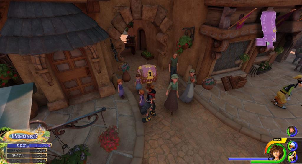 キングダムハーツ3(KH3)のワールド『キングダム・オブ・コロナ』に設置されている宝物リスト(宝箱)のThe Karnival Kidです。
