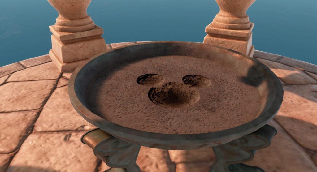 キングダムハーツ3(KH3)で訪れるワールド『キングダム・オブ・コロナ』の幸運のマークに関するイメージ画像です。