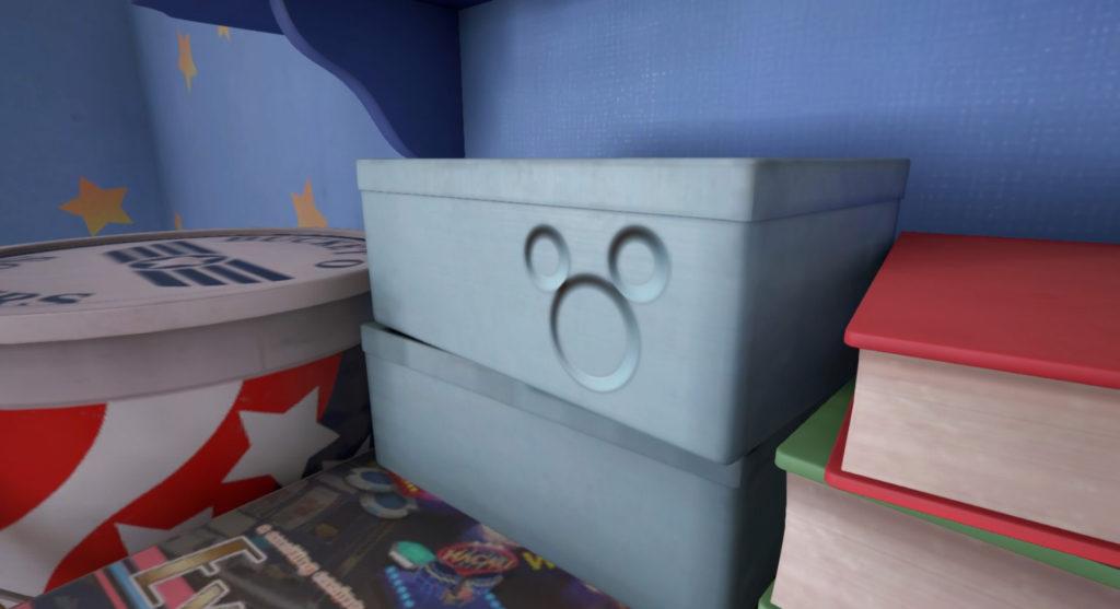 キングダムハーツ3(KH3)のトイボックスで発見可能な幸運のマークのイメージ画像です。