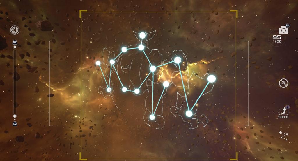 キングダムハーツ3(KH3)のジ・エクリプスで撮影可能な星座のオメガ座です。