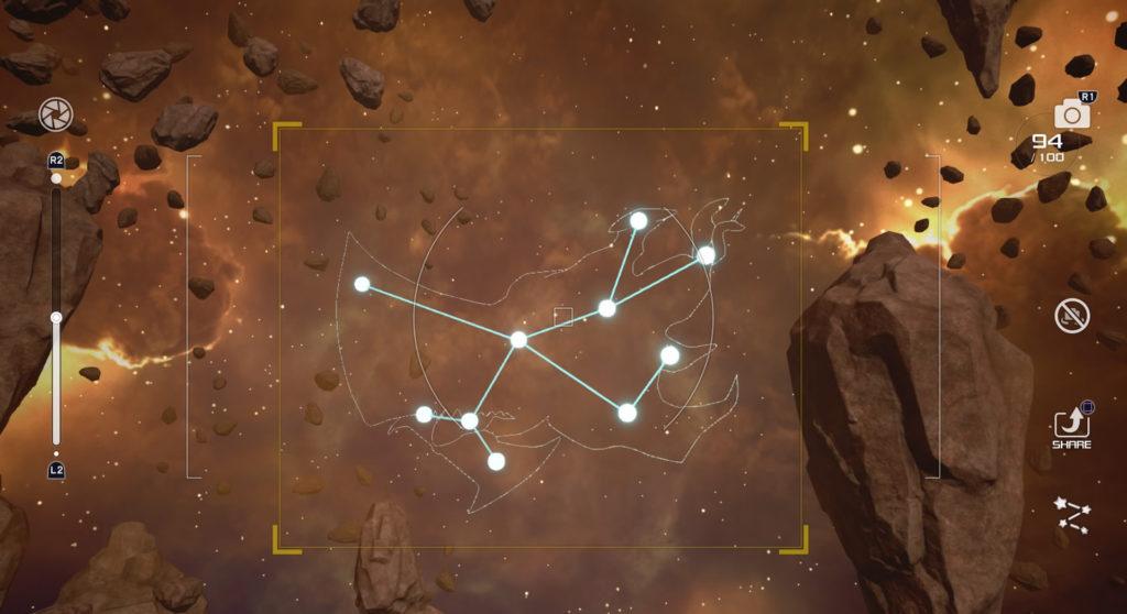 キングダムハーツ3(KH3)のジ・エクリプスで撮影可能な星座のビスマルク座です。