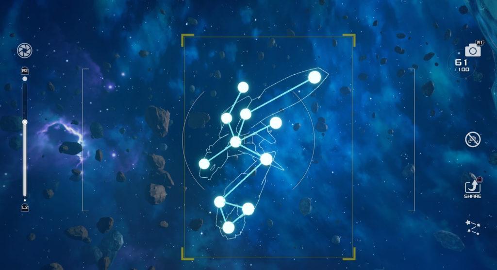 キングダムハーツ3(KH3)のミスティストリームで撮影可能な星座のエンディミオン座です。