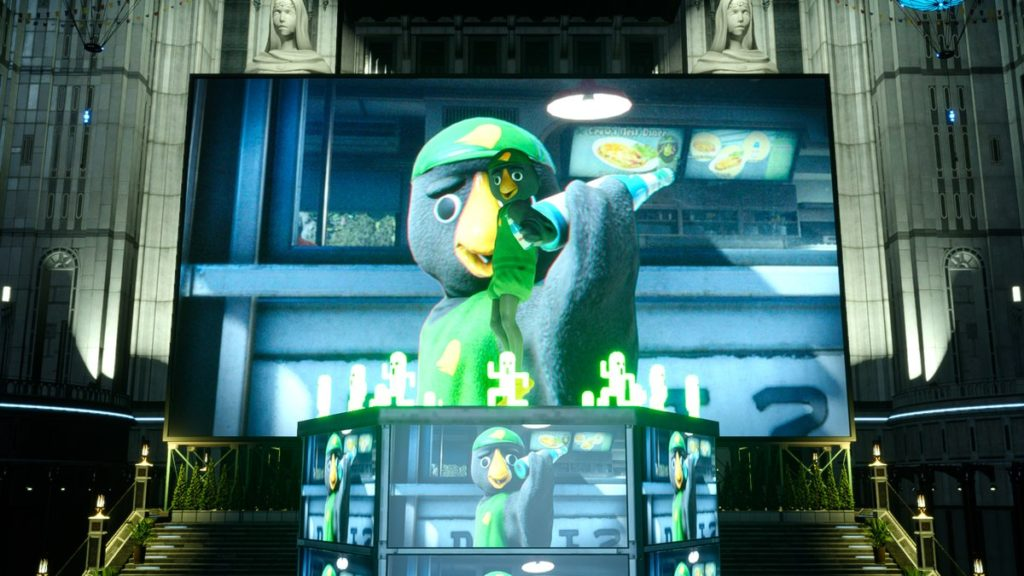 FF15のDLC『戦友』で取得可能な『クロウズ・ネスト』ゴールド会員のイメージ画像です。