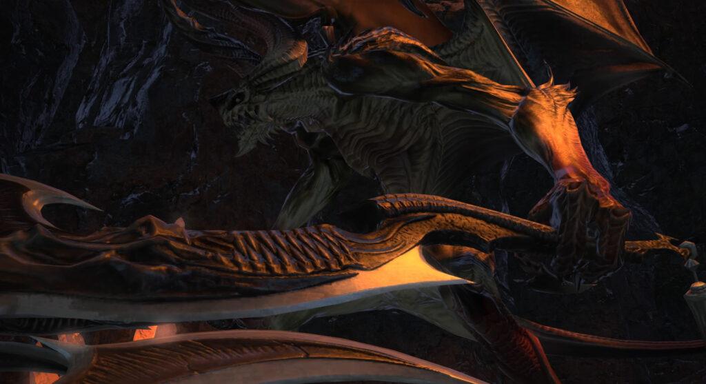 FF14のダンジョン『掃討作戦 ゼーメル要塞』に出現するボス『バトラール』のイメージ画像です。