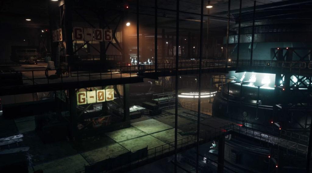 FF7リメイク『四番街 プレート内部』