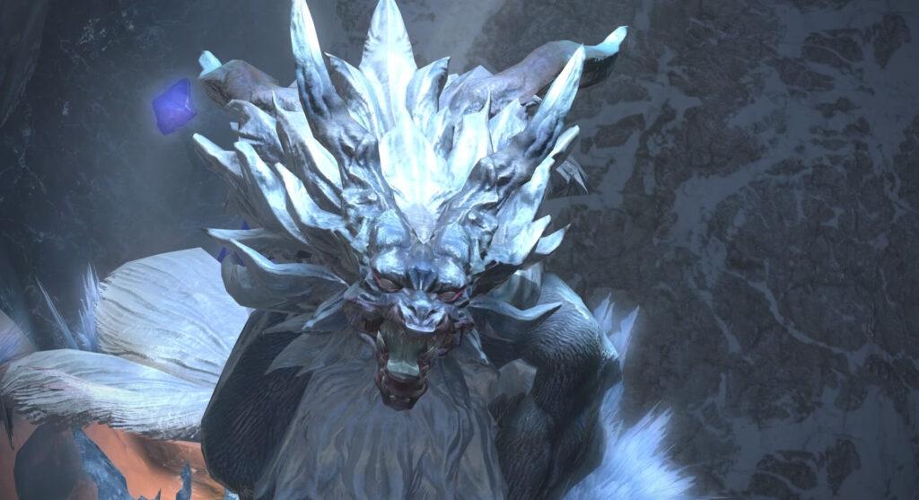 スノークローク大氷壁『フェンリル』