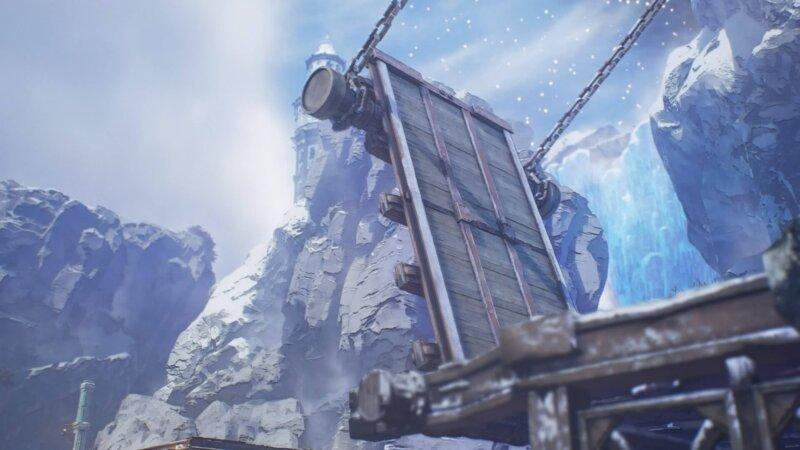 マップと宝箱の場所一覧『氷結峡谷』